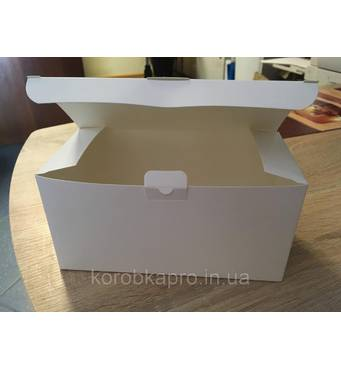 Коробка картонная универсальная белая 200х100х100 мм