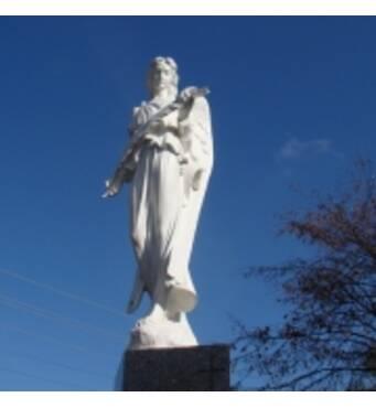 """Скульптура """"Ангел з білого мармуру"""""""