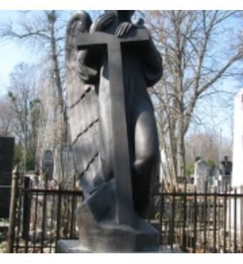 Скульптура з бронзи, Янгол