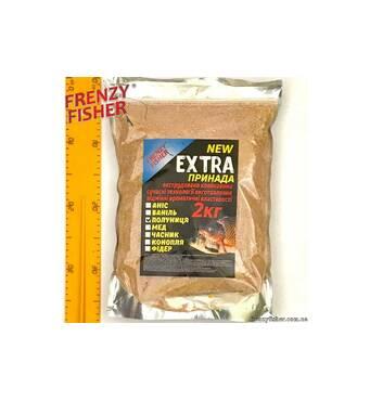 Прикормка FF Екстра (полуниця) 2 кг