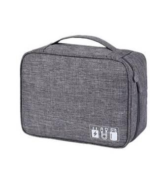 Дорожній органайзер для аксесуарів Travelty Basics L Grey
