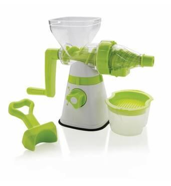 Соковыжималка ручная Xd Design Manual slow juicer бело-зеленая