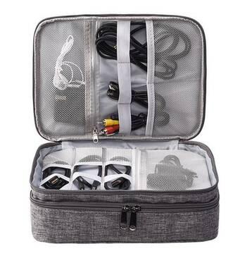 Дорожній органайзер для аксесуарів Travelty Basics XL Grey