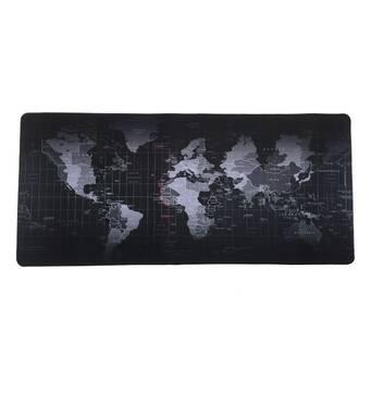 Коврик для мишки Goobay World Map Mousepad (77605)