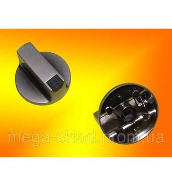 Ручка газовой плиты D=6 мм (металл серебро)