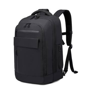 Міський рюкзак Travelty Bange з відділенням для ноутбука 15,6 чорний (BG - 1918) Чорний