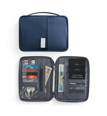Дорожній органайзер для документів Travelty Dream Travel XL,  Navy Blue