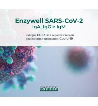 Іфа набір на коронавірус Enzywell SARS-CoV-2 IgA ( Італія)