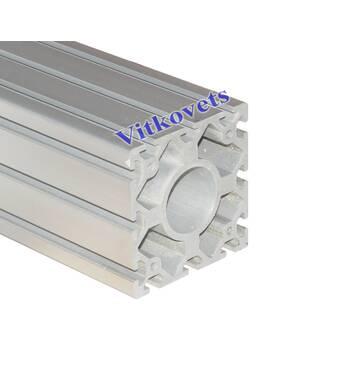Верстатний алюмінієвий профіль  120х120 3000мм