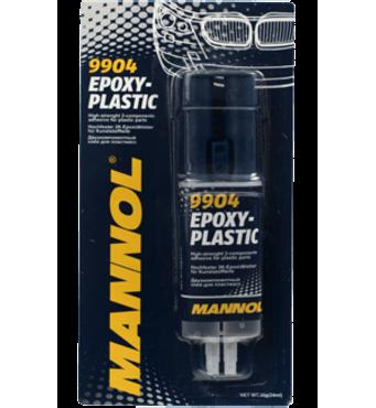 Клей двухкомпонентный для пластмассы Epoxy - Plastic Mannol 30г