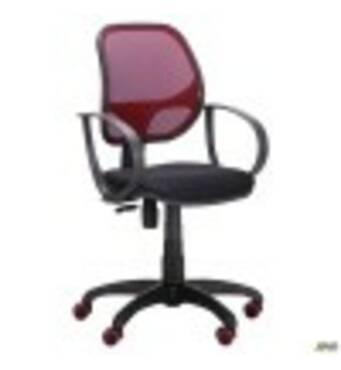 Крісло Біт Color/АМФ- 8 сидіння А- 1/спинка Сітка бордова