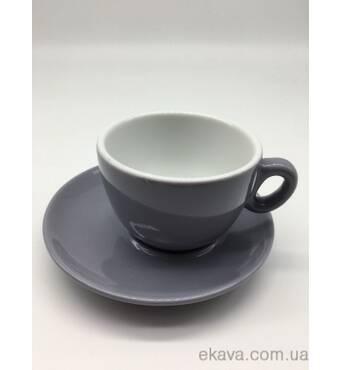 Чашка з блюдцем для еспрессо INKER Luna (70мл/12см)
