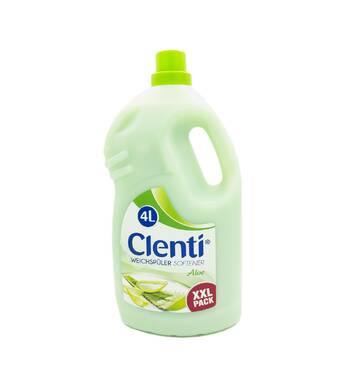 Ополаскиватель для белья Clenti Aloes 4 л