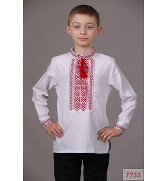 Вышиванка для мальчика (машинная вышивка)