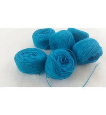 Акрил для вышивки: голубой