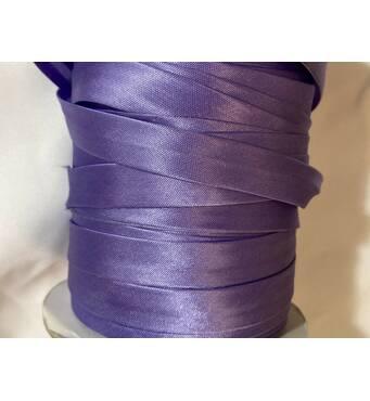Коса бейка атласна, (бузкового  кольору) 1.5см