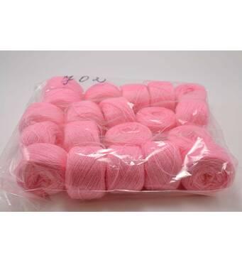 Акрил для вышивки:  розовый