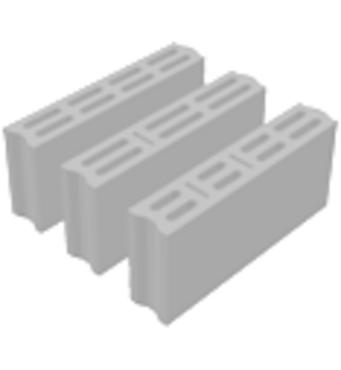 Бетонні вібропрессованні блоки ПБ-ПР 10
