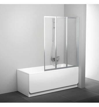 Штора для ванны BeHappy VS3 100 см