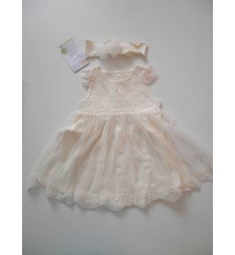Хрестильна сукня пов'язка ТМ Happy ToT