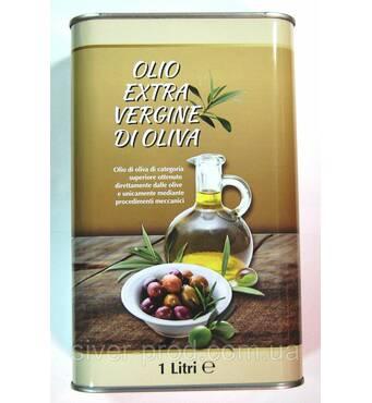 Олія оливкова Olio Extra Virgin 1л Di Oliva (прямокутн) ж/б (1/12)