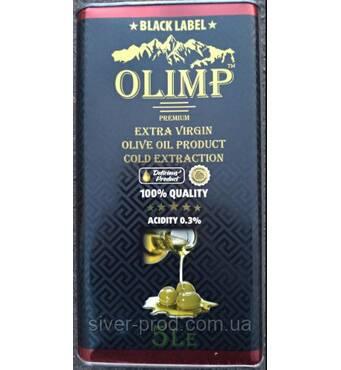 Олія оливкова Olio Extra Virgin 5л OLIMP Black Label ж/б (1/1)