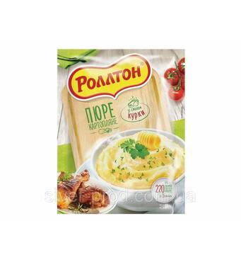 """Пюре картофельное пакет 40г Курка """"Роллтон"""" (1/24)"""