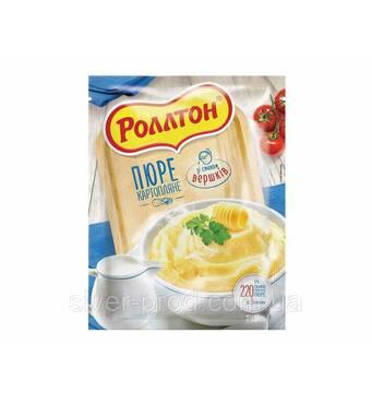 """Пюре картофельное пакет 40г Сливки """"Роллтон"""" (1/24)"""