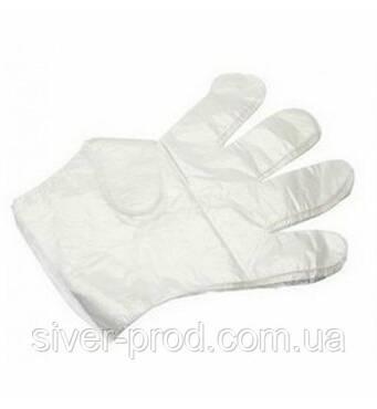 Перчатки полиэтиленовые одноразовые (1*100)