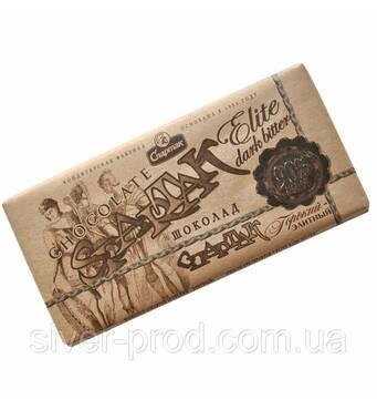 """Шоколад КРАФТ гіркий какао 90% 90г """"СПАРТАК"""" (1/28 або 25)"""