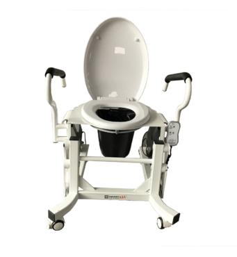 Крісло для туалету c підйомним пристроєм і підставним судном MIRID LWY002