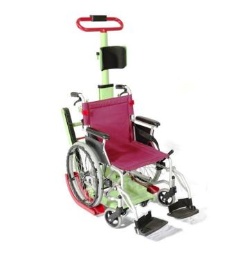 Лестничный электроподъемник для инвалидной коляски MIRID 11D (любой тип коляски)