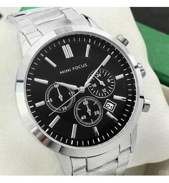 Мужские наручные часы Mini Focus MF0188G.03 Silver-Black