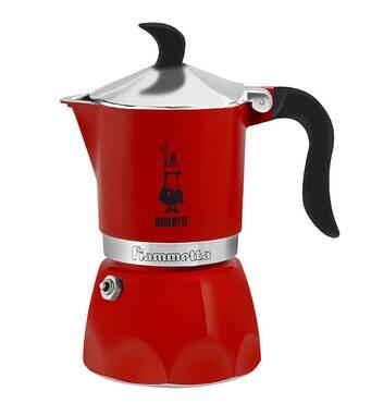 Гейзерна кавоварка Bialetti Fiammetta Red (3 чашки - 170 мл)