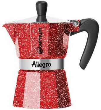 Гейзерна кавоварка Bialetti Allegra Aeternum Rubino (3 чашки - 170 мл)