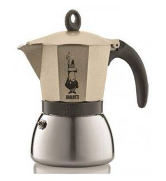 Гейзерна кавоварка Bialetti Moka Induction Gold (3 чашки - 170 мл)
