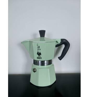 Гейзерная кофеварка Bialetti Moka Collection Mint (3 чашки - 170 мл)