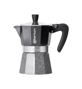 Гейзерна кавоварка Bialetti Aeternum Elegance Black (6 чашок - 300  мл)