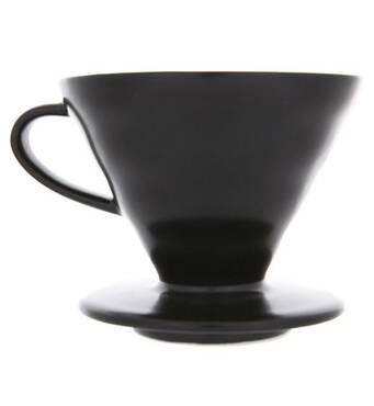 Воронка пуровер керамическая Hario V60 02 Grey для приготовления фильтр кофе