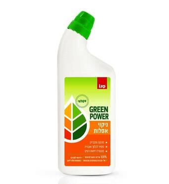 Екологічний чистячий засіб для миття унітазів Sano Green Power 750 мл.