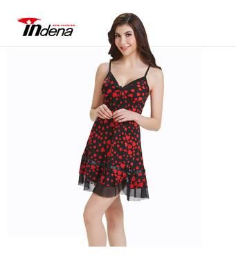 """Жіночий комплект з нічною сорочкою Марка """"INDENA"""" Арт.9004"""