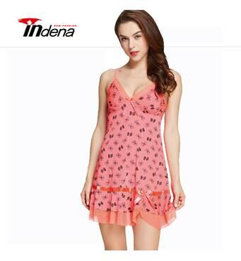 Женский комплект (ночная рубашка и трусики) Марка «INDENA» Арт.9072
