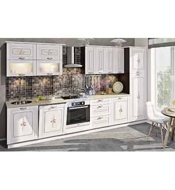 Кухня Кантрі з вінтажним малюнком на замовлення