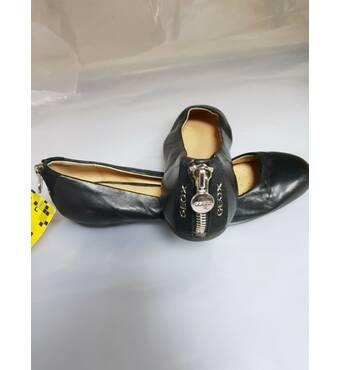 Балетки geox respira кожа черние 38размер 24см стелька оригинал