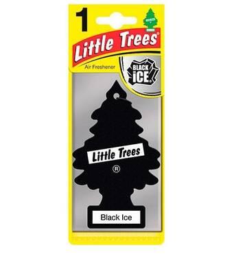 Освіжувач повітря Little Trees і quot,Чорний лід і quot, 5гр (78092)