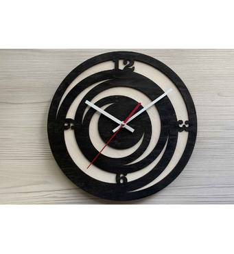 Дизайнерские настенные деревянные часы Trend2