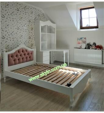 Спальний гарнітур Скарлет в дитячу,підліткову кімнату з дерева
