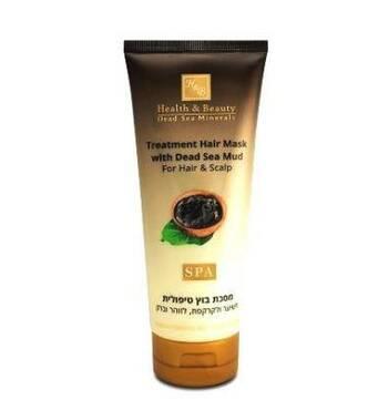Лечебная маска для волос с грязью Мёртвого моря Health & Beauty Treatment Hair Mask With Dead Sea Mud 200 мл.