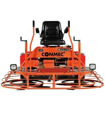 Двороторна затиральна машина Conmec CRT 836 (бензиновий двигун HONDA GX690)