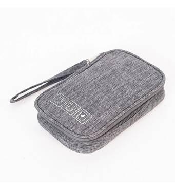 Дорожный органайзер для аксессуаров Travelty Basics S Grey